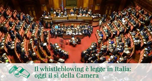 Il whistleblowing è legge: introdotto nella 231/01