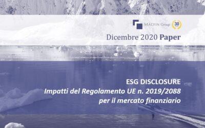 I nuovi obblighi ESG disclosure per il mercato finanziario